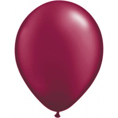 Bordeaux metallic ballonnen