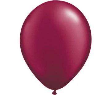 Bordeaux metallic ballonnen