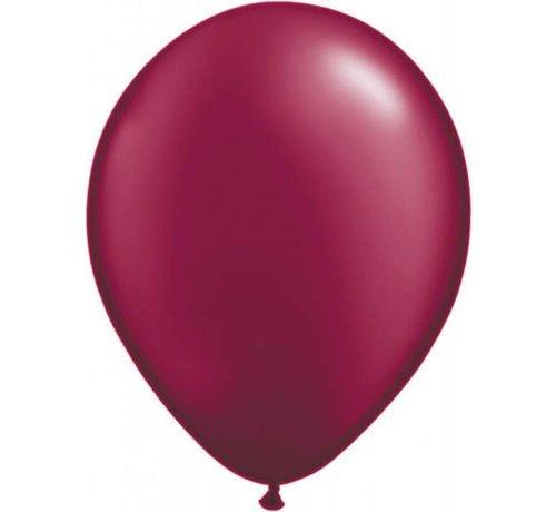 Bordeaux metallic ballonnen online kopen