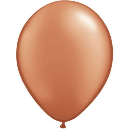 Bruine metallic ballonnen online kopen