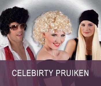 Celebrity Pruiken