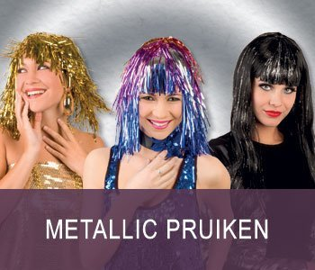 Metallic pruiken