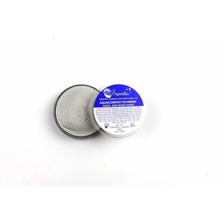 Aqua Face- And Body Paint 45 Gram Zilver