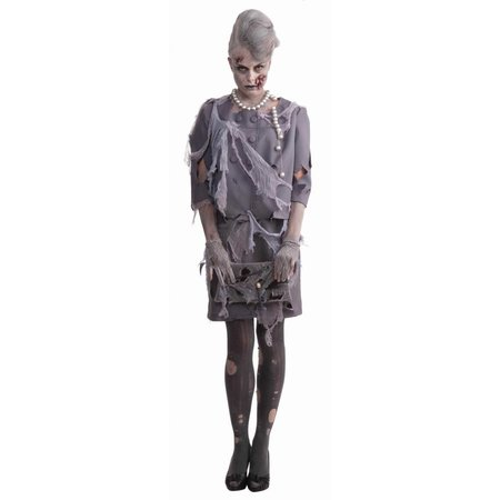 Zombie outfit lady