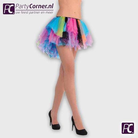 Gekleurde Petticoat tutu