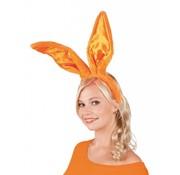 Konijnen oren oranje
