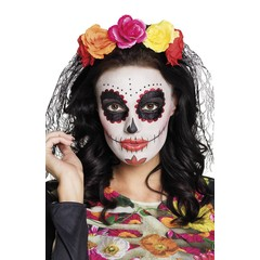 Day of the dead zwarte sluier