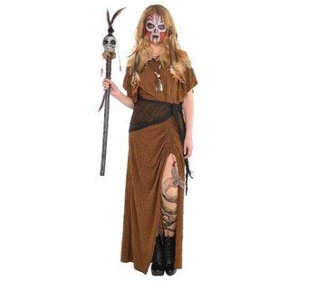 Dames voodoo kostuum