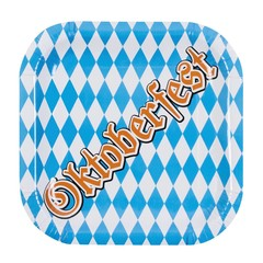 Plastic Oktoberfest bordjes