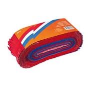 Crêpe papier slinger rood wit blauw