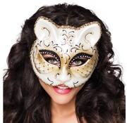 Luxe poezen masker