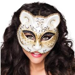 Poezen masker