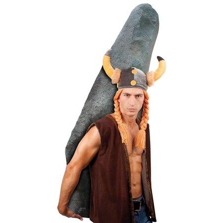 Viking helm Gaul met haar