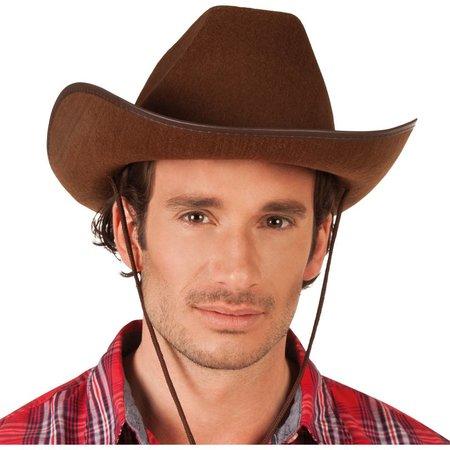 Cowboyhoed Vilt Bruin