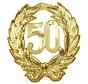 Huldebord 50 jaar getrouwd versiering
