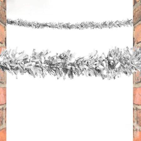 Glitter slinger Zilver kleurig