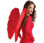 Engelen vleugels rood