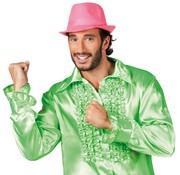 Disco shirt lime groen