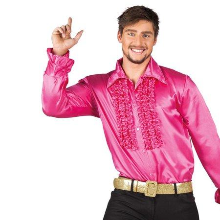Party Disco shirt knalroze
