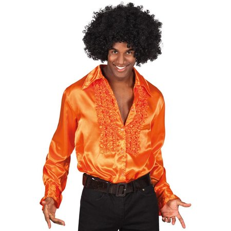 Disco shirt oranje