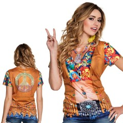Flower power Fotorealistisch shirt