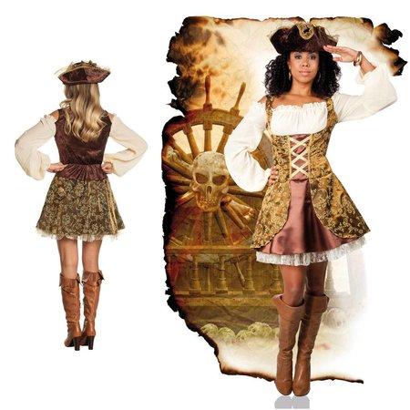 Piraten jurk Treasure