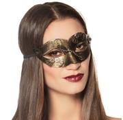 Dames steampunk oogmasker