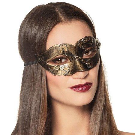 Dames steampunk oogmasker kopen