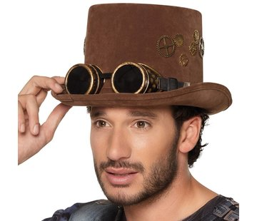 Steampunk hoge hoed