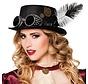 Steampunk hoge hoed dames