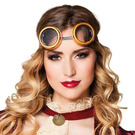 Dames steampunk retrobril kopen