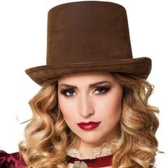 Dames steampunk hoed