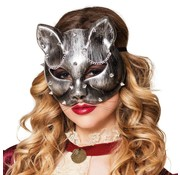 Dames Steampunk masker kat