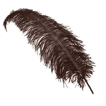 PartyCorner Struisvogelveren bruin