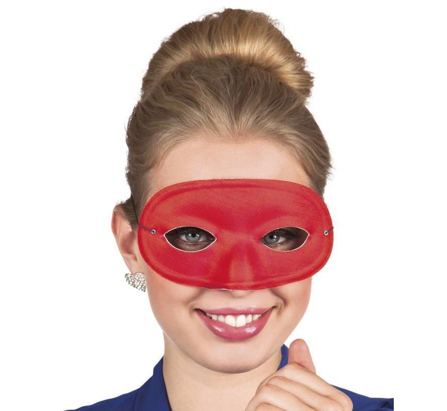 basic carnavals oogmasker rood
