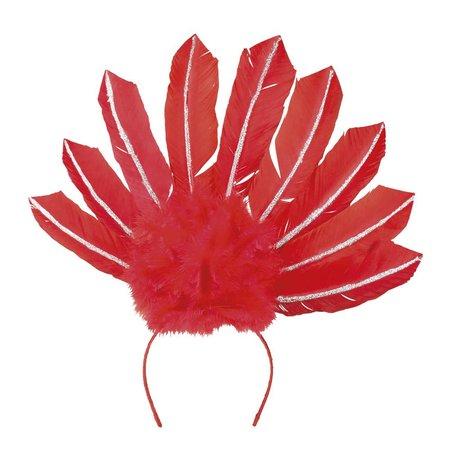 Braziliaanse verentooi rood