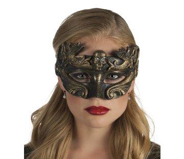 Brons dames masker