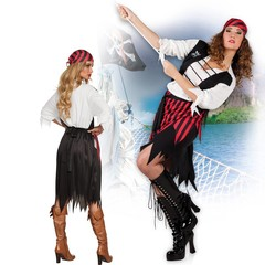 Piraten kleren suzy