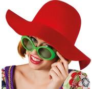 Rode woodstock hoed saskia
