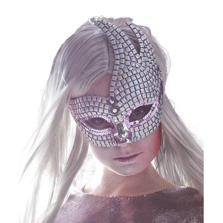 Glitter Venetiaans masker kopen