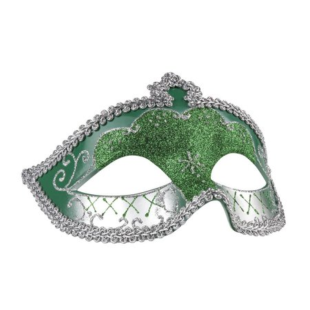 Goedkope sexy oogmasker groen