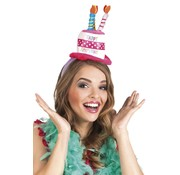 Tiara Happy Birthday hoed