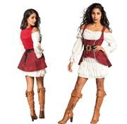 Zeerovers kostuum dames