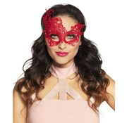 Venetiaans masker rood