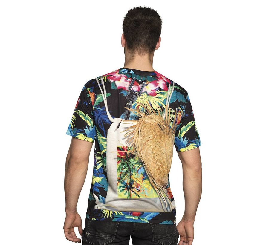 3D shirt beach boy