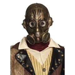 Gasmasker steampunk
