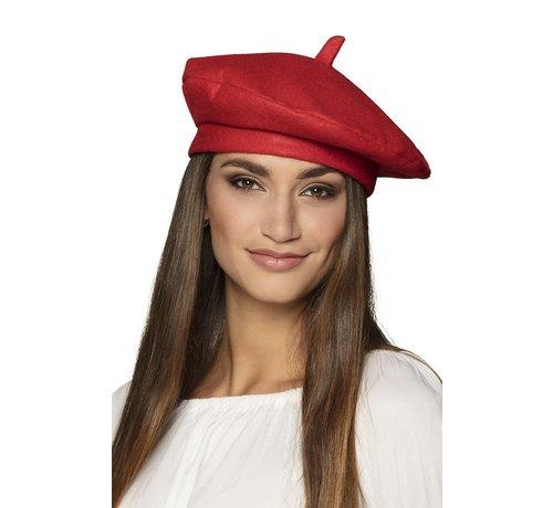 Baret France rood