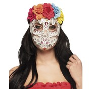 Half masker dag van de doden