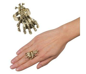 Ring Skull claw