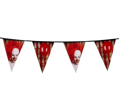 Vlaggenlijn Horror clown IT